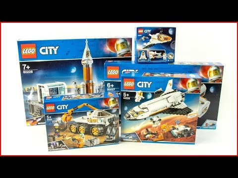LEGO CITY COMPILATION Space 2019 - UNBOXING