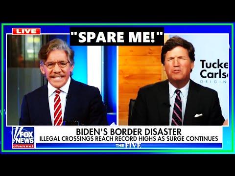Tucker & Geraldo Get In HEATED Clash On Immigration