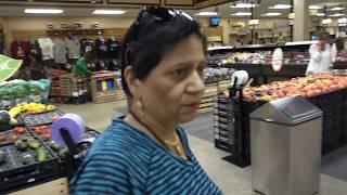 Aruna & Hari Sharma Shopping at Wegmans 45131 Columbia Pl, Sterling, VA 20166, USA, Aug 25, 2018