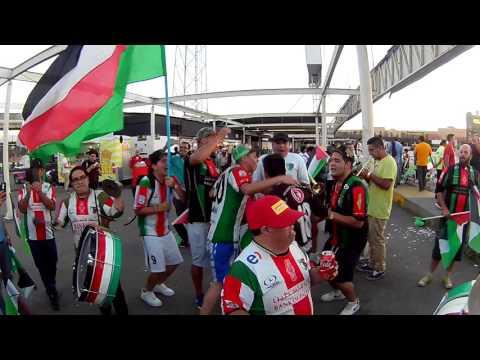 """""""La Banda de Los Baisanos - Palestino Chile."""" Barra: Los Baisanos • Club: Club Deportivo Palestino"""