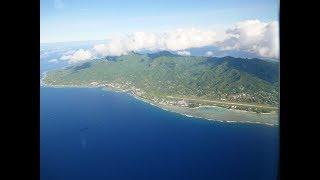 Air New Zealand flight (HD) - Rarotonga (RAR) - Auckland (AKL), Flight NZ45