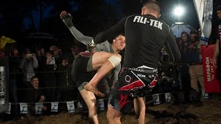 RUGBY PLAYER vs MMA PRO Fighter !!! Super Final !!!!!
