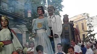 preview picture of video 'Gegants d'Argentona ballant - Gegant del Dr. Gonçal Calvo'