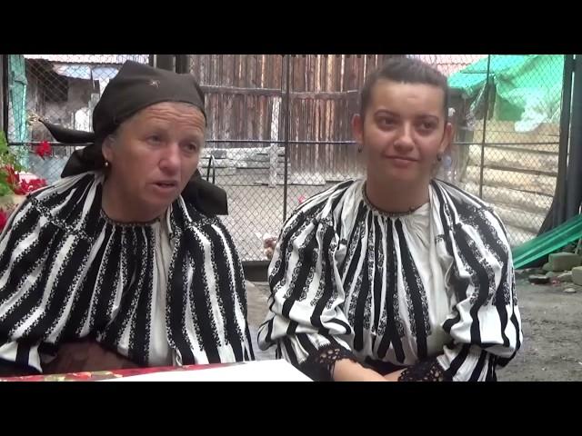 Motivul strugurelui pe ia românească: Chesler