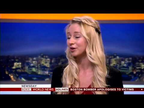 Rhiannon Lambert Nutritionist on BBC World News