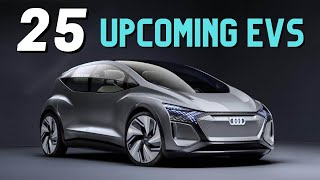 25 New Electric Cars Coming in 2022