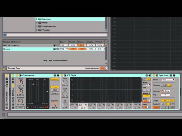 Ableton Live - Tutorial 16 : Mezcla 1 / Ecualización