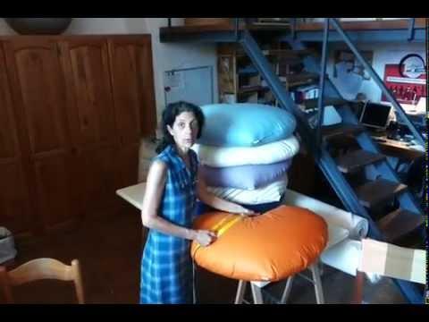 Cuscini per massaggio infantile con pula di farro bio