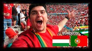 VIAJEI PARA VER O PORTUGAL X HUNGRIA!!!!