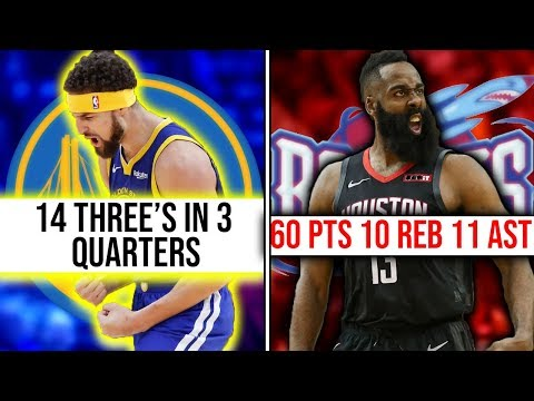 9 CRAZIEST NBA Stat Lines in the Past 10 Years