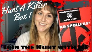 HUNT A KILLER With Me! BOX 1