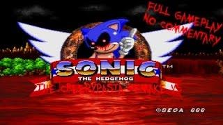 Sonic.exe The Creepypasta Remake V5 - Full Gameplay - No Commentary