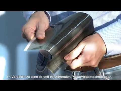 Die flexible Photovoltaikfolie - crystalsol - pilotFilm.at