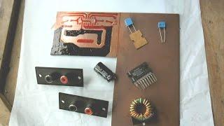 Amplificador 44 Watts Stereo TDA 1558Q construção + módulo MP3