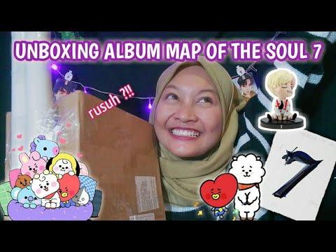 "UNBOXING"" Figure & Album BTS Map Of The Soul 7 || Versi 2 😭😻"