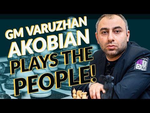 GM Varuzhan Akobian & Kaleb Gosdin Play The People!   lichess.org