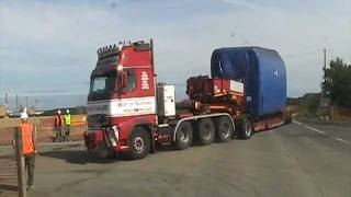 preview picture of video 'West Of Scotland Heavy Haulage Windfarm Division'