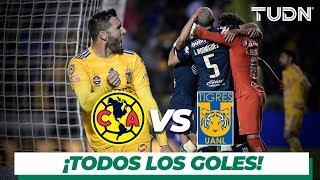 Todos los goles  del América vs Tigres | Cuartos de final | TUDN