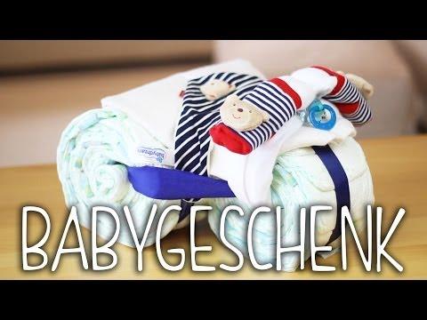 BABYGESCHENK - DIY Windel Motorrad | einfach und kreativ