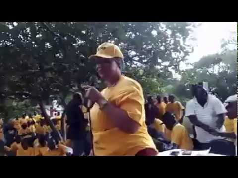 Cde Sarah Mahoka Speaking in Bindura NPF Meeting 06 April 2018