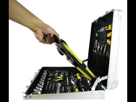 Maletin 159 herramientas y ruedas