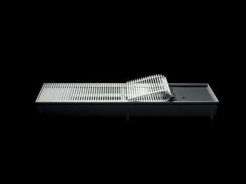 Внутрипольный конвектор Kampmann Katherm HK с функцией отопления и охлаждения обзор