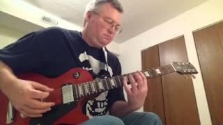 Ace Frehley-Fox On The Run-rhythm guitar