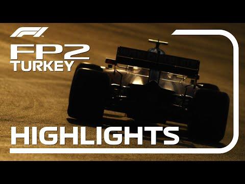 F1 トルコGP フリープラクティス2のハイライト動画
