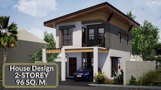 House Design Tour 2-Storey 3 Bedroom Cozy Style