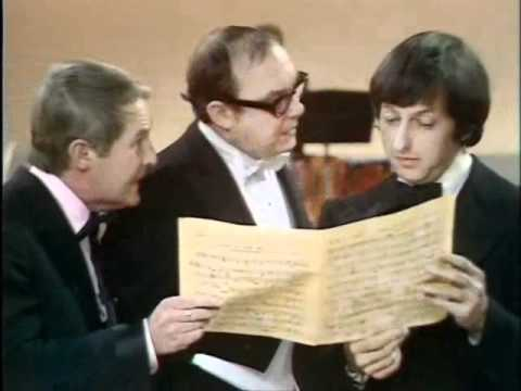 Too Funny! Andre Previn Conducts Eric Morecambe