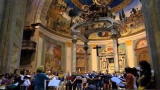 Pratica Coro nella Basilica di Santa Croce in Gerusalemme - 21.06.2014