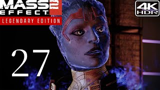 Mass Effect 2  Walkthrough Gameplay And Mods pt27  The Justicar 4K 60FPS HDR Insanity