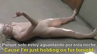 Sia  - Chandelier [Lyrics English - Subtitulado Español] Official Video