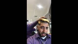 The Fade Factory -TFF- Francisco Gets Hair Coloring and Cut Part II