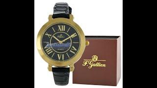 Видео обзор женских наручных часов F. GATTIEN 150202