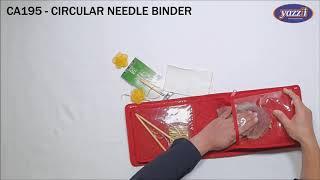 CA195 – Circular Needle Binder | Yazzii Craft Storage Bag