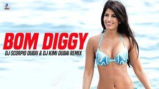 Bom Diggy | Zack Knight X Jasmin Walia | DJ Scorpio Dubai & DJ Kimi Dubai Remix