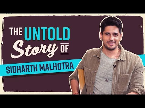 Sidharth Malhotra's UNTOLD Story: My first film never took off; didn't have enough money to pay rent
