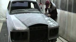 Полная покраска автомобиля Bentley. Удаление коррозии.