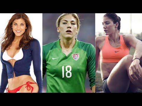 Hope Solo Football Player Sports Moments