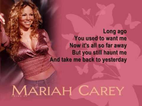 Escuchar mariah carey radio dice la cancin long ago mariah carey stopboris Image collections