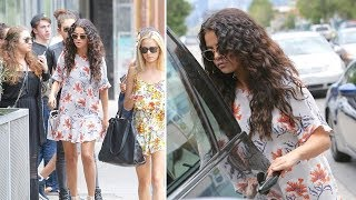 Selena Gomez Furiously Slams Door When Asked About Bieber's Feud With Orlando Bloom [2014]