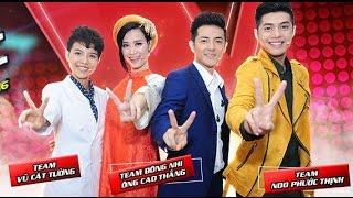 Noo Phước Thịnh và Đông Nhi chặt chém nhau tại The Voice Kids 2016 [part 1]