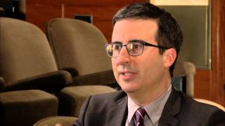 Comedian John Oliver on making fun of serious news