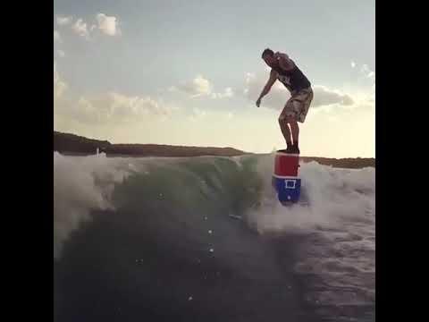 Surffausta kylmälaukuilla