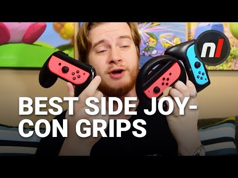 The Best Sideways Joy-Con Grips for Nintendo Switch