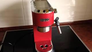 Кофеварка DeLonghi 685. Приготовление идеального латте