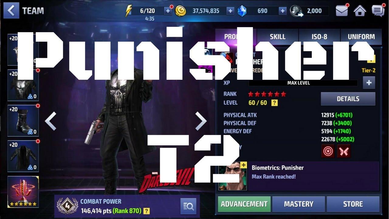 รีวิว Punisher T2