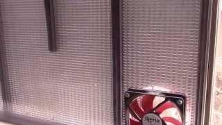 In-Window Solar Heater Test, Part 1