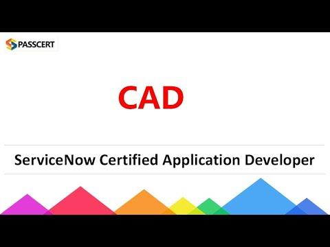 ServiceNow Certified Application Developer (CAD) Exam Dumps ...